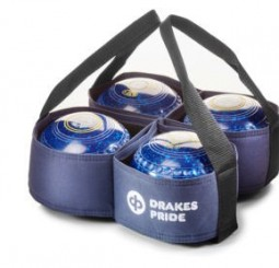 Drakes Pride Four Bowl Carrier Navy