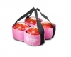 Drakes Pride Four Bowl Carrier Pink