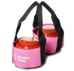 Drakes Pride Two Bowl Carrier Pink