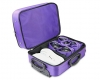 Emsmorn Classic Trolley Bag purple inside