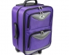 Emsmorn Classic Trolley Bag purple. 2