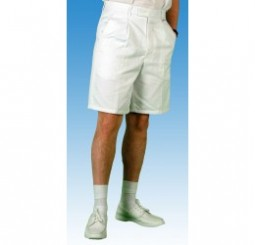 emsmorn white mens bowl shorts