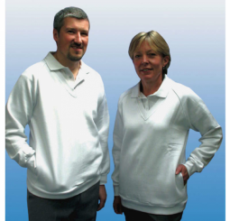 Emsmorn unisex V neck Sweatshirt